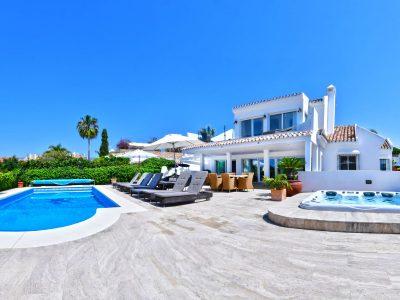 Villa Sunyer, Luxury Villa for Rent in  El Rosario, Marbella