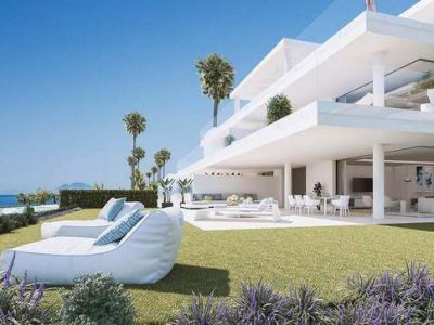 Off-plan development on beachfront on New Golden Mile