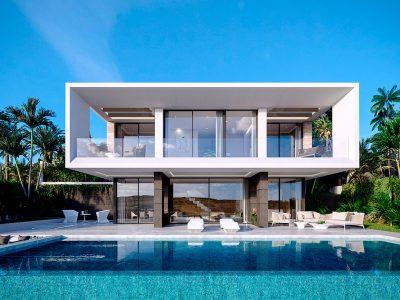 Modern Contemporary Villa in Magnificent Natural Environment, Estepona, Marbella