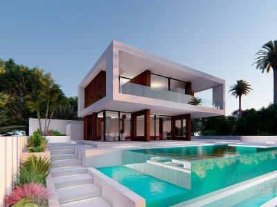 Valle Romano 64 Pool facade 400x300