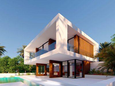 Valle Romano 64 Side facade 400x300