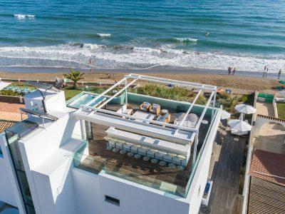 Spectacular Frontline Beach Villa, Las Chapas, Marbella