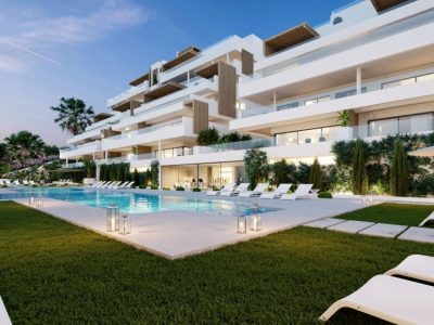 Modern Apartment with the best views of Mediterranean sea in Estepona, Marbella
