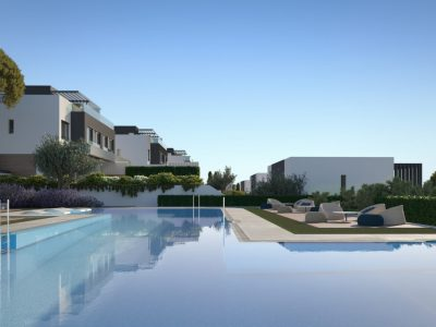 Contemporary Semi-detached Villa in Estepona, New Golden Mile, Marbella