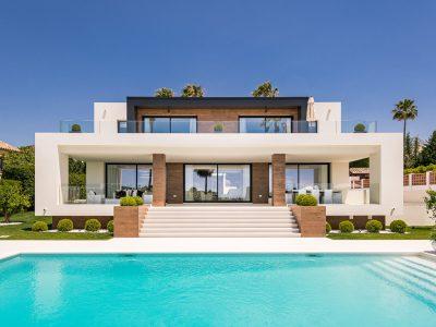 Modern New Built Villa with Golf and Sea Views, Nueva Andalucia, Marbella